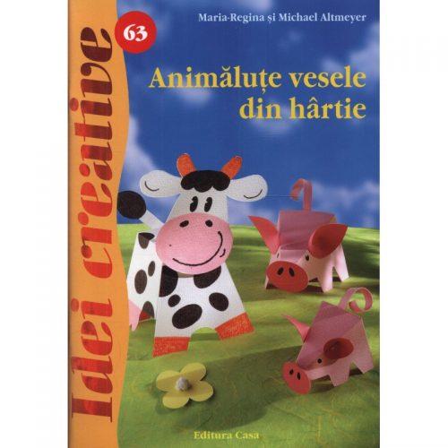 Animalute vesele din hartie, vol. 63 (ed. tiparita)