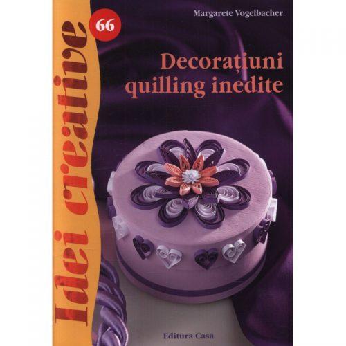 Decoratiuni quilling inedite, vol. 66 (ed. tiparita)
