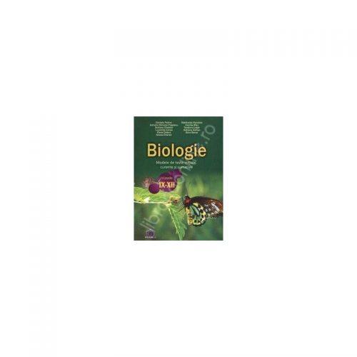 Biologie: Modele de teste initiale, curente si sumative - Clasele IX-XII (ed. tiparita)