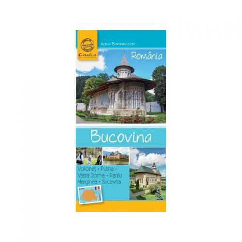 Ghid de calatorie Bucovina (ed. tiparita)