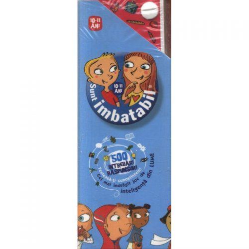 Sunt Imbatabil: 500 de intrebari si raspunsuri (copii 10-11 ani) (ed. tiparita)