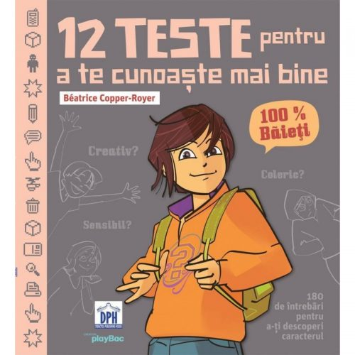 12 teste pentru a te cunoaste mai bine - 100% Baieti (ed. tiparita)