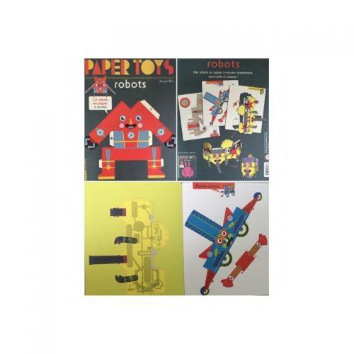 Papertoys: Roboti (copii 4+ ani) (ed. tiparita)