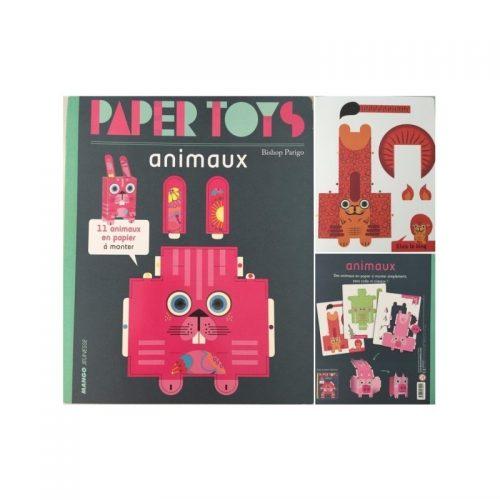 Papertoys: Animale (copii 4+ ani) (ed. tiparita)
