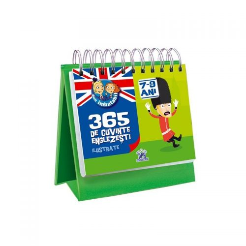 365 de cuvinte englezesti ilustrate (copii 7-9 ani) (ed. tiparita)