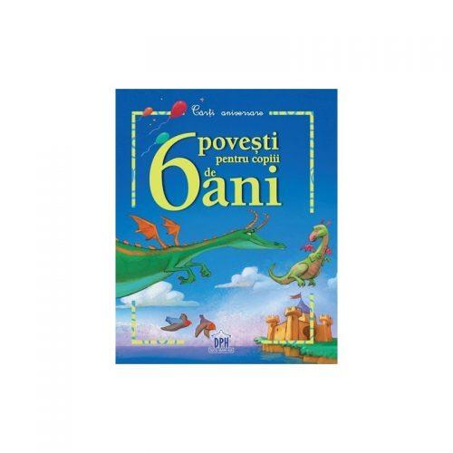 6 povesti pentru copiii de 6 ani (ed. tiparita)
