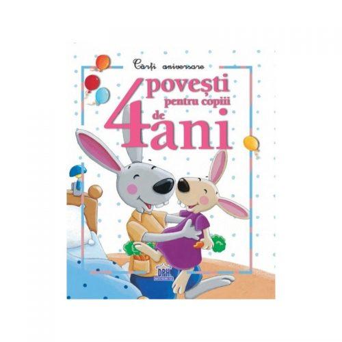4 povesti pentru copiii de 4 ani (ed. tiparita)