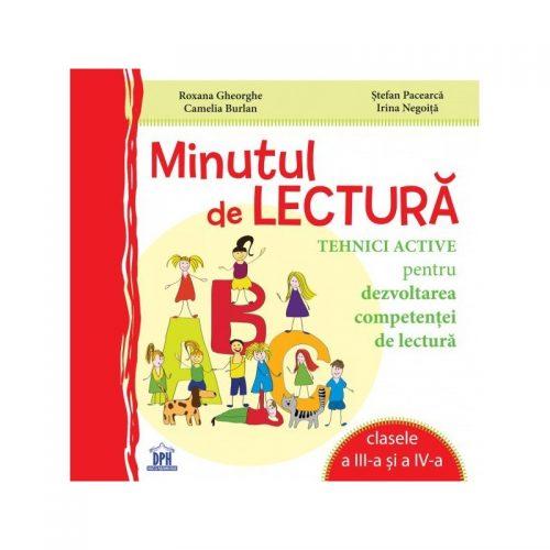 Minutul de lectura clasele a III-a si a IV-a (ed. tiparita)