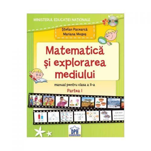 Caiet de matematica si explorarea mediului - partea I pentru clasa a II-a (ed. tiparita)