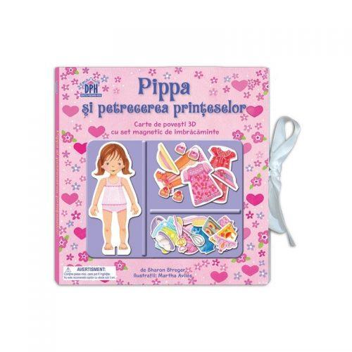 Pippa si petrecerea printeselor: Carte de povesti 3D (copii 4+ ani) (ed. tiparita)