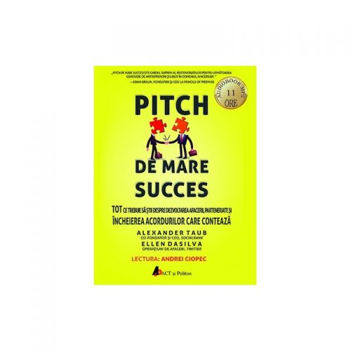 Pitch de mare succes (audiobook)