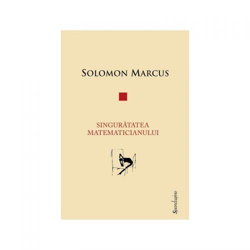 Singuratatea matematicianului (ed. tiparita)