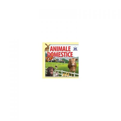 Animale domestice: 14 imagini cu animale domestice (carte evantai)
