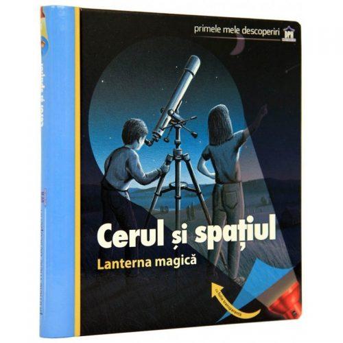 Cerul si spatiul: Lanterna magica (carte joc)