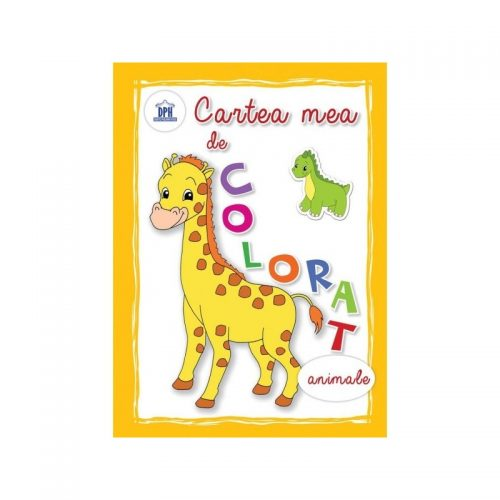 Cartea mea de colorat - animale (ed. tiparita)