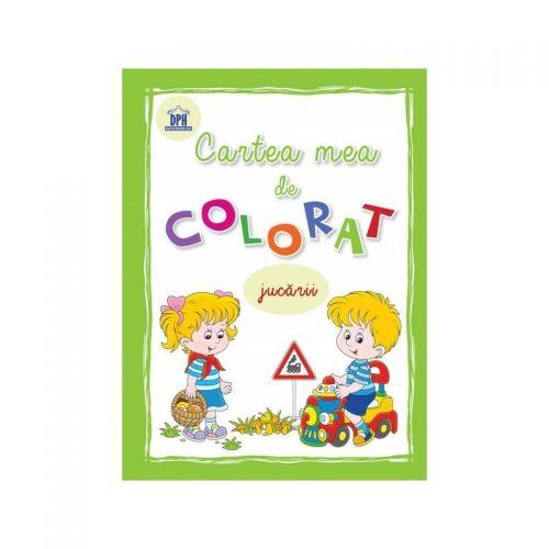 Cartea mea de colorat - jucarii (ed. tiparita)