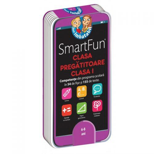 SmartFun Clasa pregatitoare-Clasa I: 155 de teste (ed. tiparita)