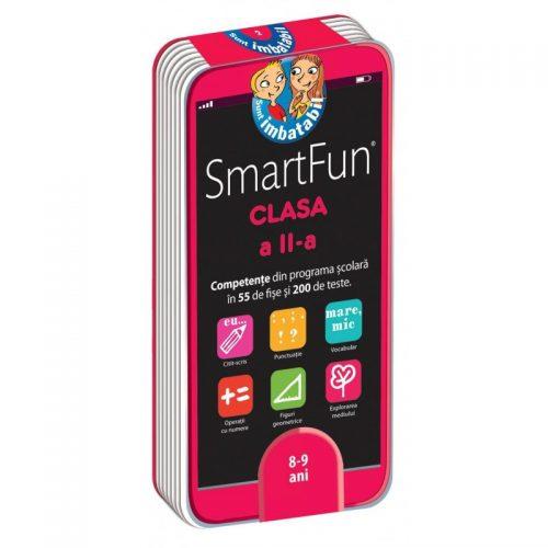 SmartFun Clasa a II-a: 200 de teste (ed. tiparita)