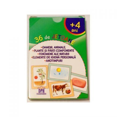 Invatam cifre, semne matematice, multimi, figuri geometrice - 36 de jetoane (ed. tiparita)