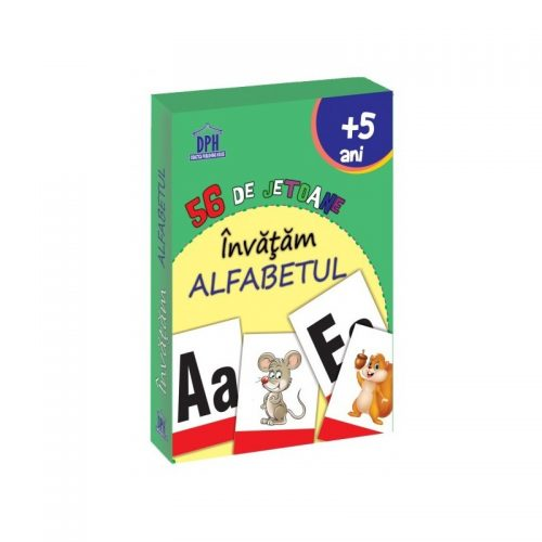 invatam alfabetul - 56 de jetoane (ed. tiparita)