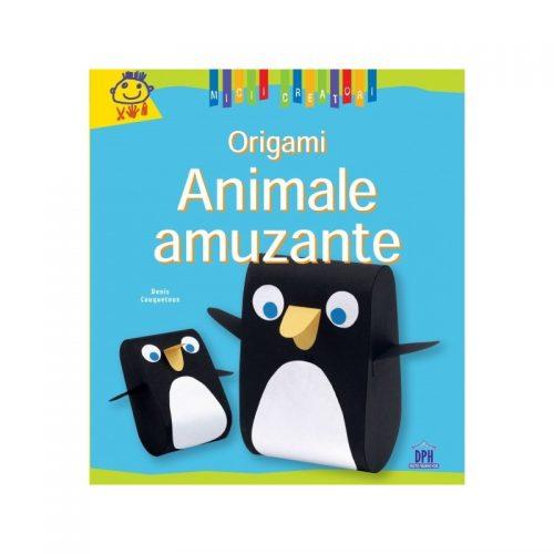 Origami: Animale amuzante (ed. tiparita)