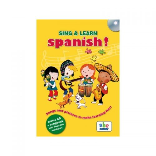 Sing&Learn Spanish! (ed. tiparita + CD)