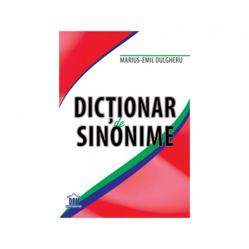Dictionar de sinonime (ed. tiparita)
