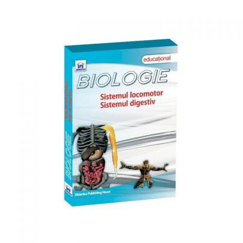 Biologie: Sistemul locomotor, sistemul digestiv (DVD)