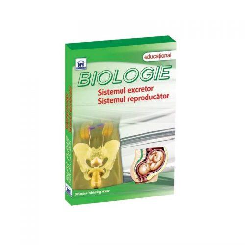 Biologie: Sistemul excretor, sistemul reproducator (DVD)