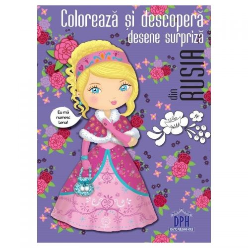 Coloreaza si descopera desene surpriza din Rusia (ed. tiparita)