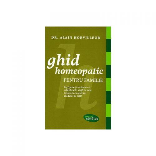 Ghid homeopatic pentru familie (ed. tiparita)