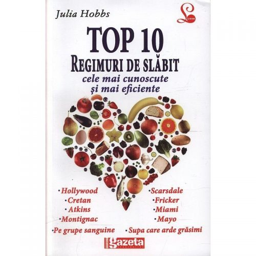 Top 10 regimuri de slabit (ed. tiparita)