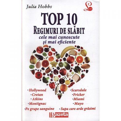 Top 10 regimuri de slabit (ed. tiparita)