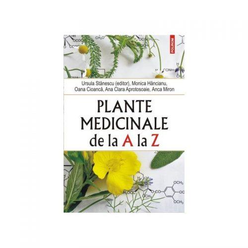 Plante medicinale de la A la Z (ed. tiparita)
