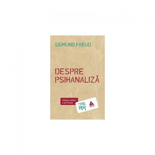 Despre psihanaliza (ed. tiparita)