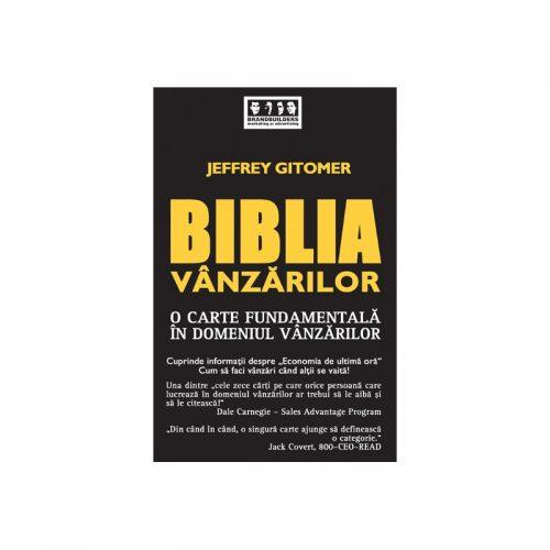 Biblia vanzarilor (ed. tiparita)