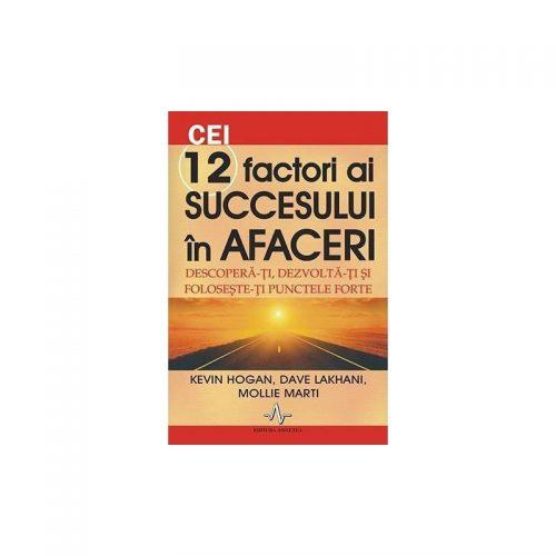 Cei 12 factori ai succesului in afaceri (ed. tiparita)