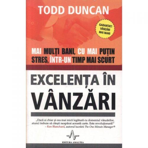 Excelenta in vanzari (ed. tiparita)