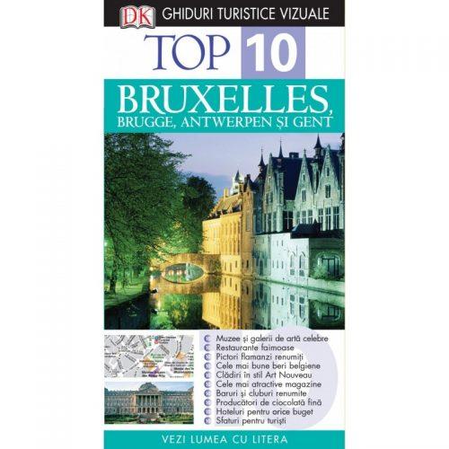 Bruxelles, Brugge, Antwerpen si Gent (ed. tiparita)