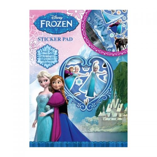Frozen, carte cu stickere (ed. tiparita)