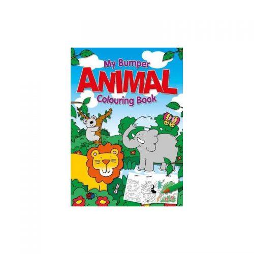 Jumbo Animals, carte de colorat (ed. tiparita)