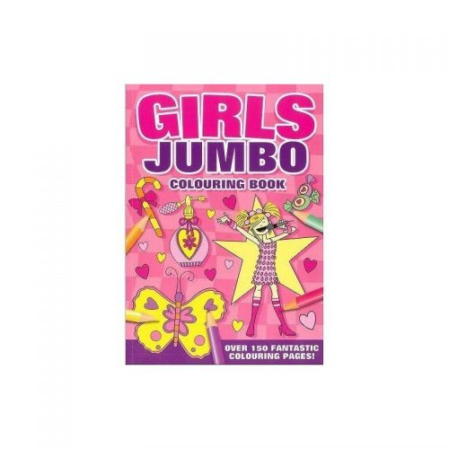 Jumbo Girls, carte de colorat (ed. tiparita)
