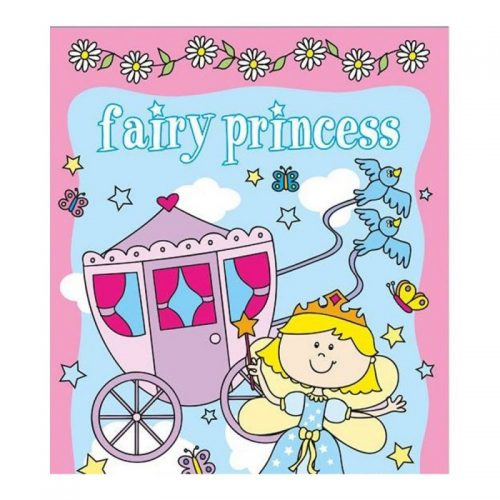 Fairy Princess, carte de colorat si stickere (ed. tiparita)