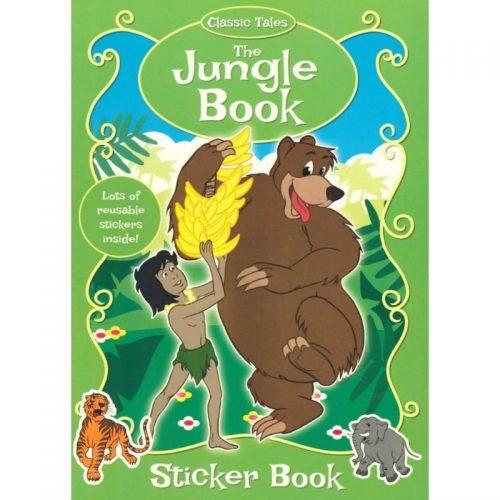 The Jungle Book, carte de colorat cu stickere (ed. tiparita)