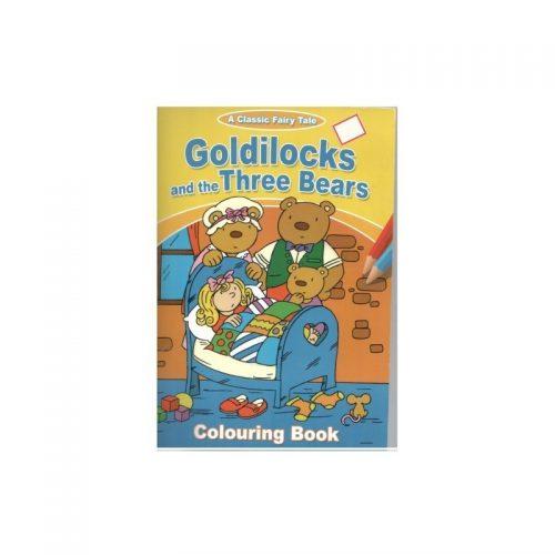Cei trei ursuleti, carte de colorat (ed. tiparita)