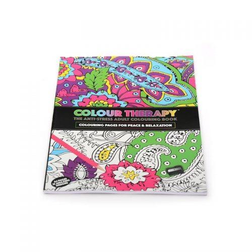 Colour Therapy: Terapie de culoare, carte de colorat pentru adulti (ed. tiparita)