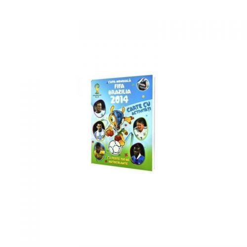 Cupa mondiala FIFA 2014, carte cu activitati (ed. tiparita)