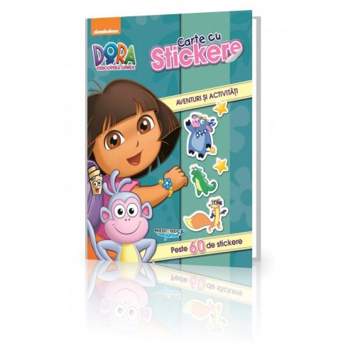 Dora, carte cu stickere (ed. tiparita)