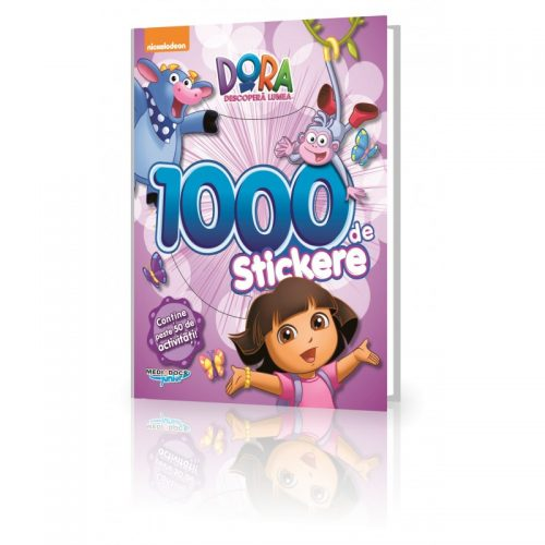 Dora, 1000 Stickere (ed. tiparita)