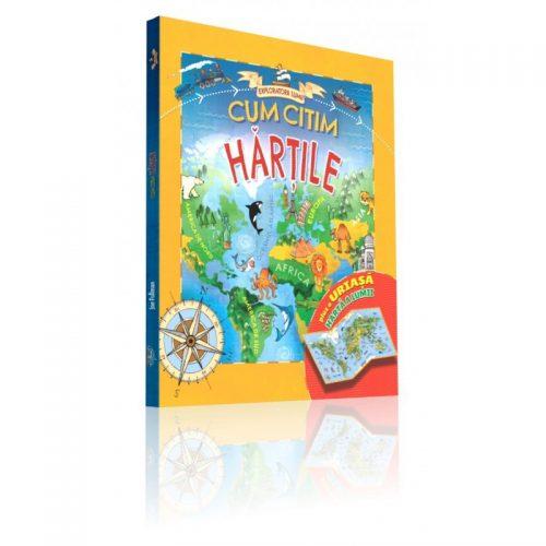 Exploratorii Lumii: Cum citim hartile (ed. tiparita)